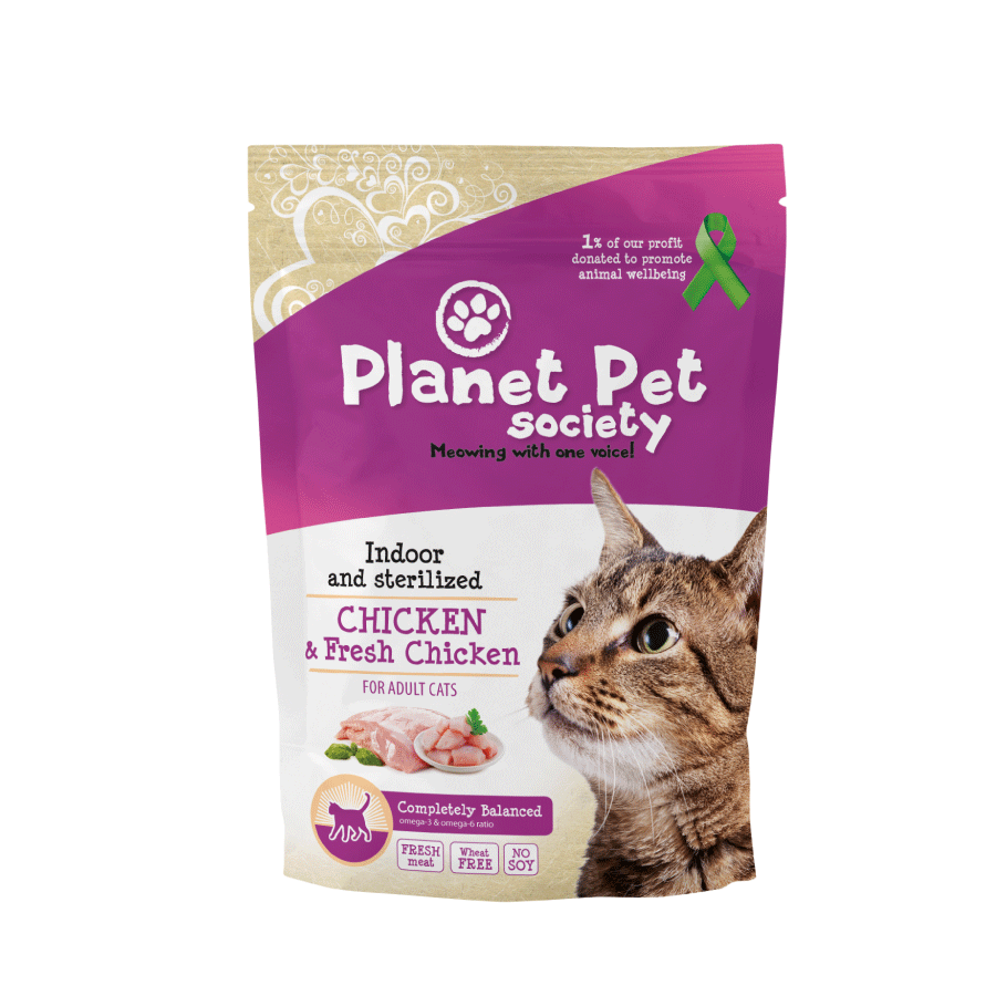 Planet Pet Kattenvoeding Indoor & Sterilised Chicken