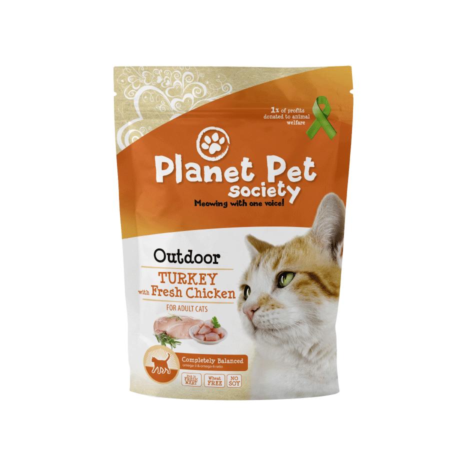 Planet Pet Kattenvoeding Outdoor Turkey