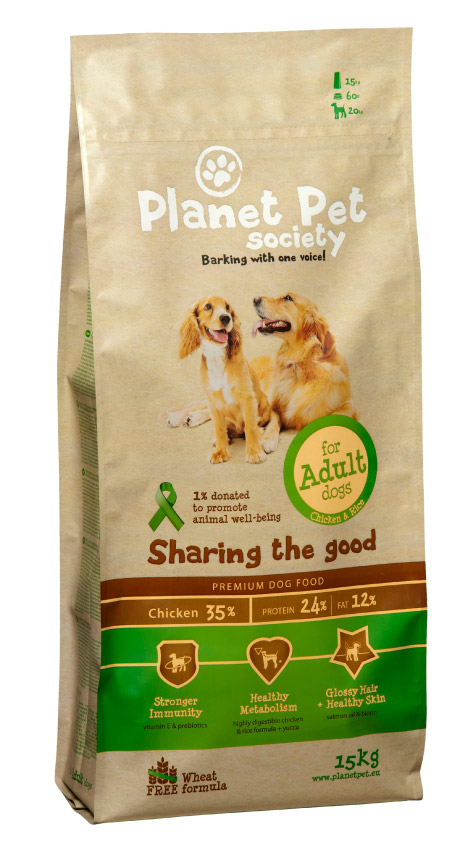 Planet Pet Adult Chicken Hondenvoeding