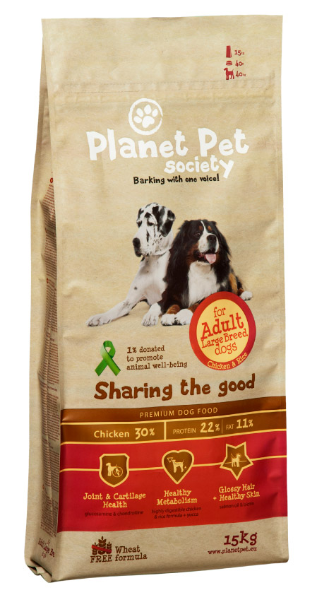 Planet Pet Adult Large Breed Hondenvoeding
