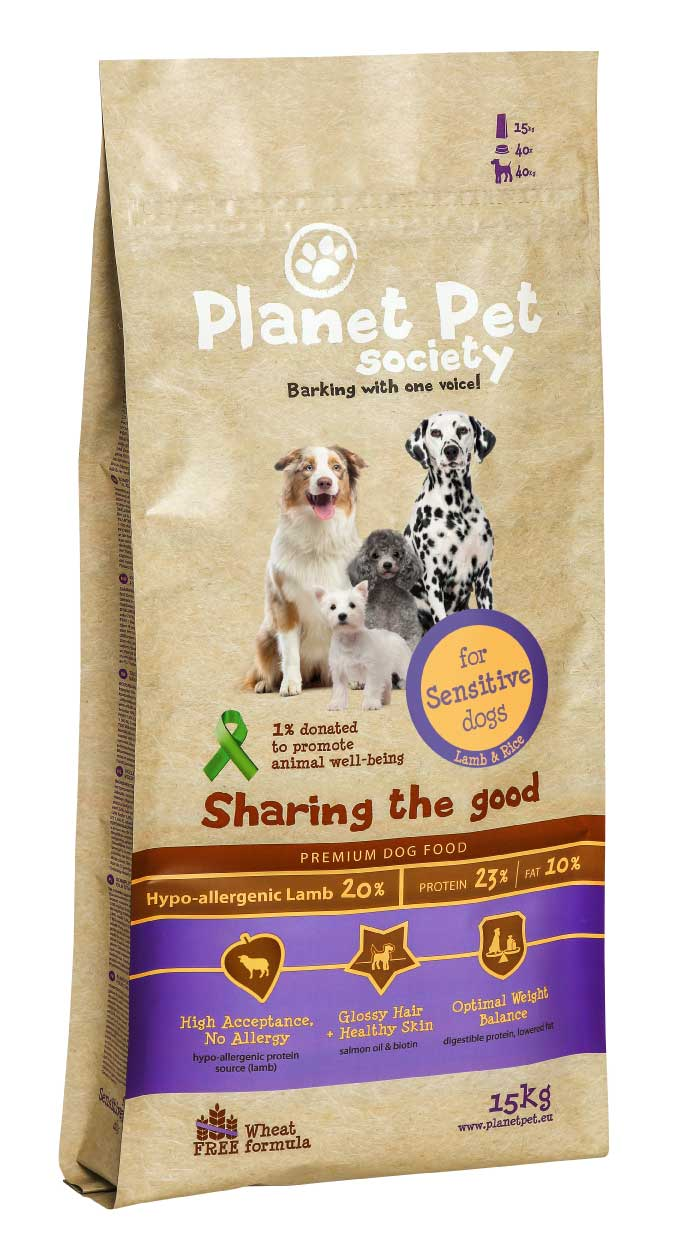 Planet Pet Adult Sensitive Hondenvoeding