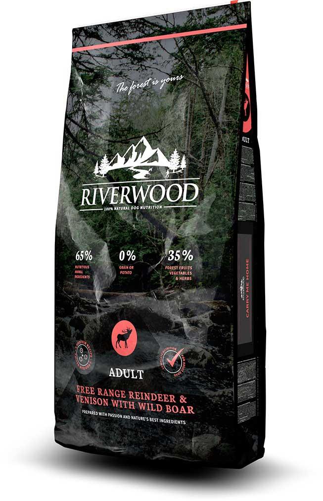 Riverwood Adult Reindeer Hondenvoeding