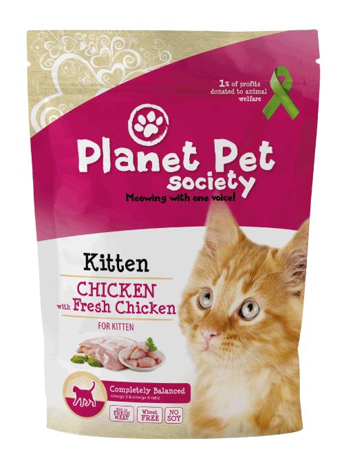 Planet Pet Kittenvoeding