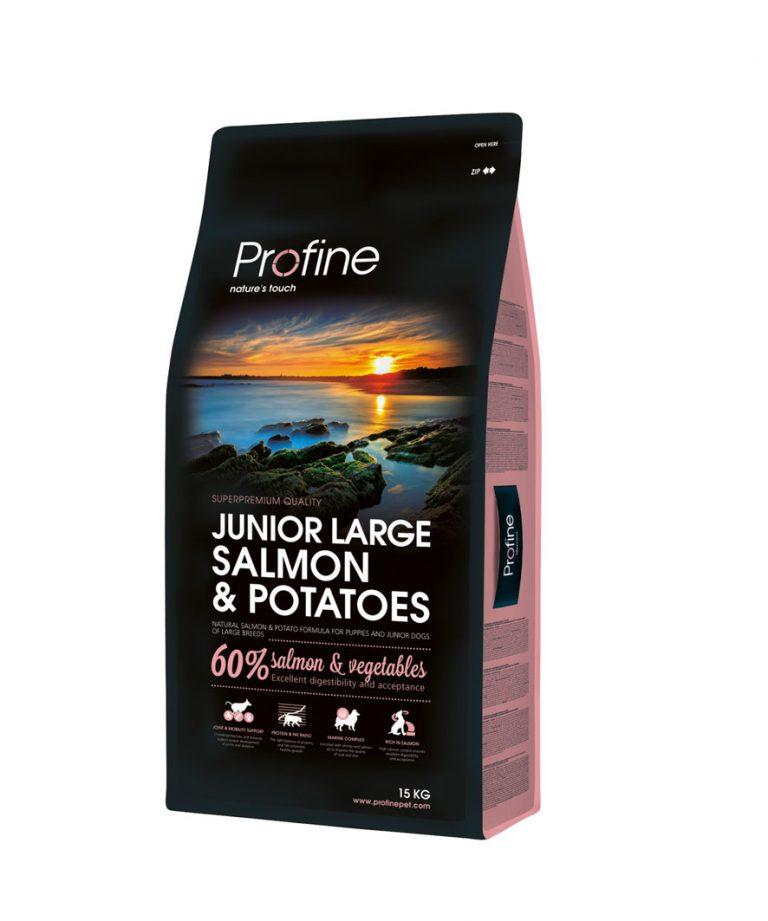 Profine Junior Large Breed Salmon Hondenvoeding