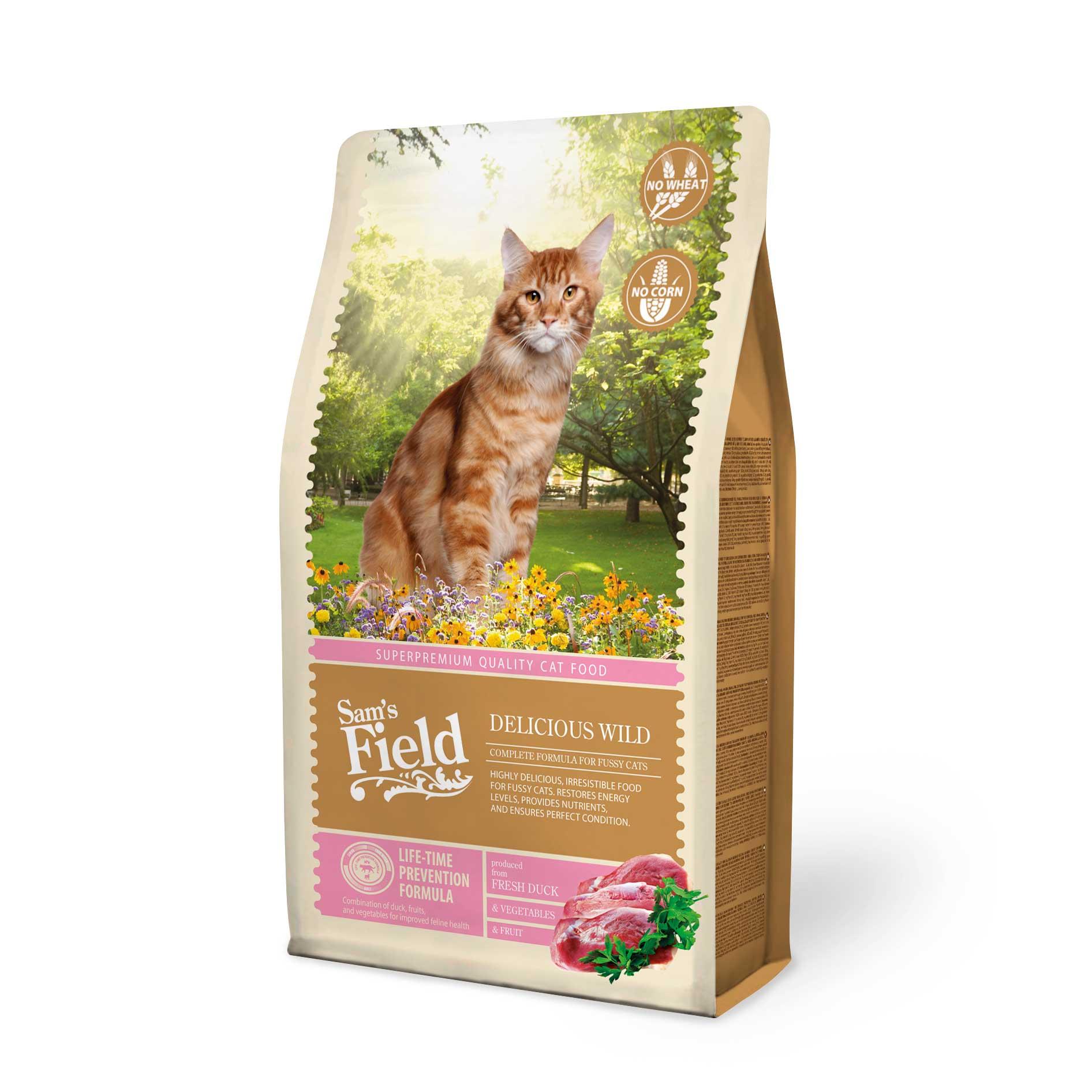 Sam's Field Kattenvoeding Delicious Wild