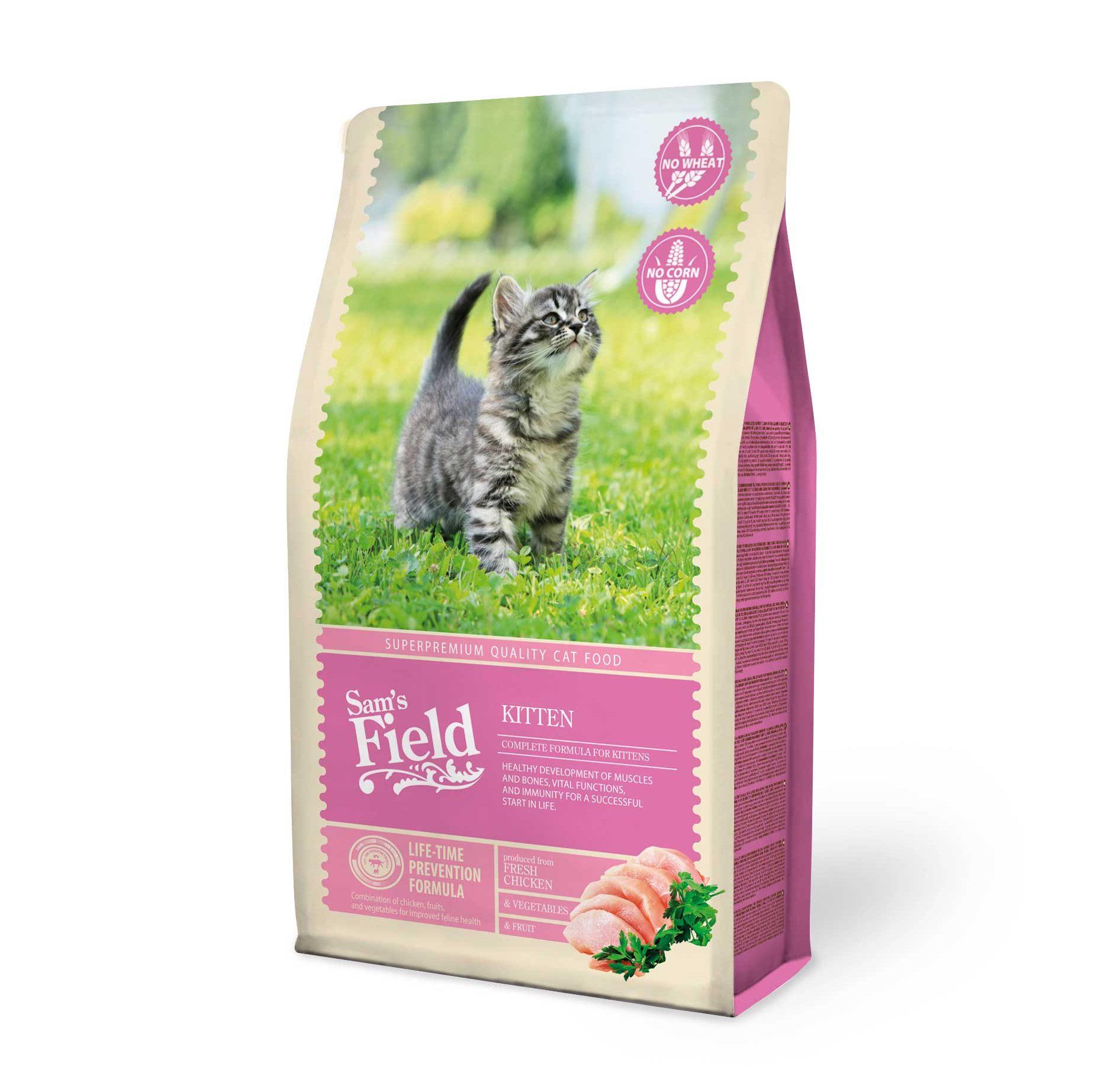 Sams Field Kittenvoeding